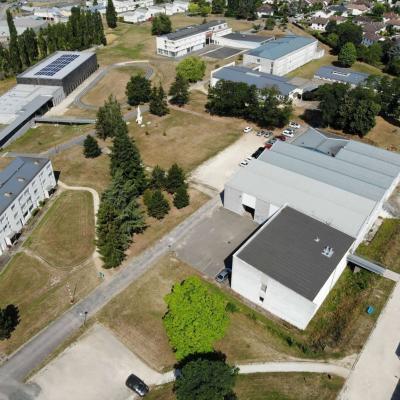 Lycées Blaise Pascal (vue aérienne)